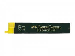 Grafity FABER-CASTELL Super-Polymer 0.35 2H