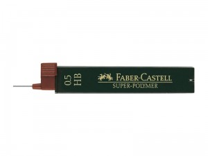 Grafity FABER-CASTELL Super-Polymer 0.5 HB