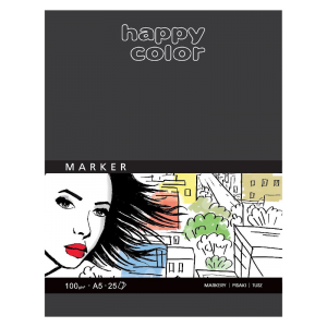Blok do markerów HAPPY COLOR Marker A5 100 g/m²