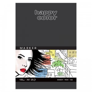 Blok do markerów HAPPY COLOR Marker A4 100 g/m²
